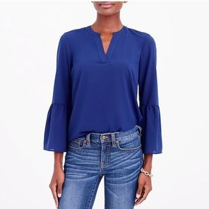 J. Crew Bell-sleeve Top